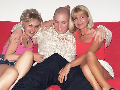 Older Women three some