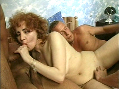 Hot Mature Gangbang